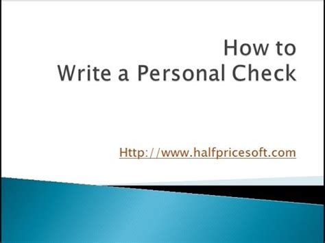 How to write a personal report
